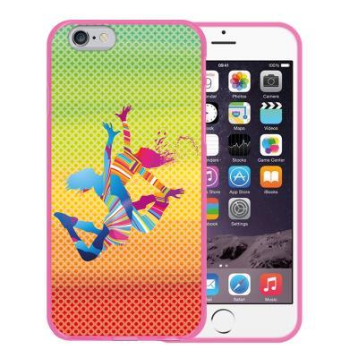 2ba8f184fa6 Funda iPhone 6 6S, WoowCase Funda Silicona Gel Flexible Chicas Bailando con  Manchas de Color Fondo Multicolor, Carcasa Case - Rosa - Fundas y carcasas  para ...
