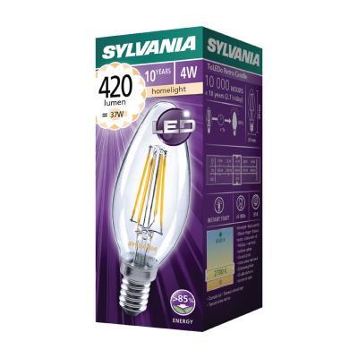 4w Led Filamento Vela 2700k Lámpara E14 Ne550589907 420lm Sylvania qSzMLUGVp