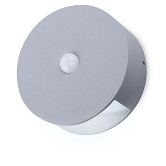 Lámpara LED Smartwares, de pared con sensor 0,5 W Gris GOB-001-MS