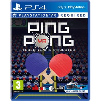 Ping Pong - Requires Move Controller (psvr) (playstation 4) [importación Inglesa]