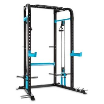 CAPITAL SPORTS Tremendi Rack máquina de poleas barra de dominadas Safety Spotter