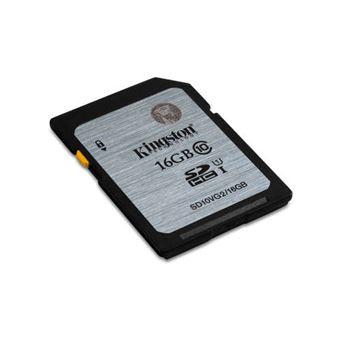 Kingston Technology Class 10 UHS-I SDHC 16GB - Memoria flash