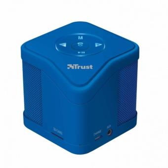 Altavoz Trust Urban Muzo Wireless Bluetooth Blue - MP3 - Micro SD - Func. Manos Libres - Incluye cab