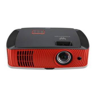 Acer - Z650 2200lúmenes Ansi dlp 1080p (1920x1080) Montado en Pared Rojo