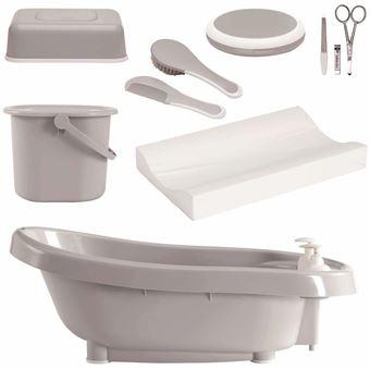 Set de bañera térmica DeLuxe Bébé-Jou, Gris 4996051