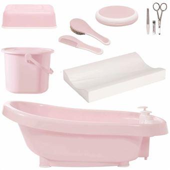 Set de bañera térmica DeLuxe Bébé-Jou, rosa 4996054