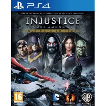 Injustice: Gods Among Us Ultimate Edition  (Playstation 4) [Importación inglesa]
