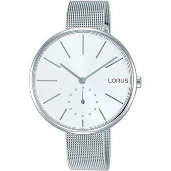 3d315ffe21f0 Reloj Lorus woman reloj para Mujer Analógico de Cuarzo con brazalete de  Acero inoxidable RN421AX9 - Reloj Mujer Moda - Los mejores precios