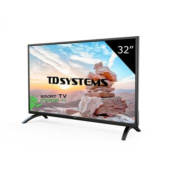"TV LED 32"" HD Smart TD Systems K32DLM8HS"