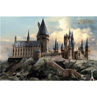 Maxi Poster Harry Potter Hogwarts Day