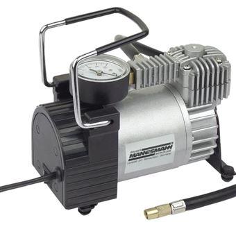 Compresor mini Brüder Mannesmann, aluminio 12 V 01790