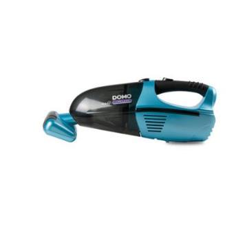 Aspirador de mano Domo DO211S inalámbrico azul y negro