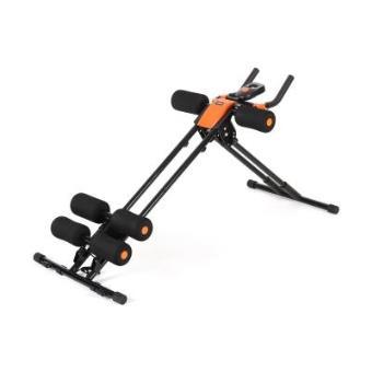 Aparato de abdominales con ordenador de entrenamiento para fitness, musculación y pérdida de peso - Klarfit AB