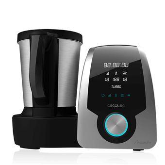 Robot de Cocina Multifunción Cecotec Mambo Silver, Pantalla Digital, Jarra de acero inoxidable de 3,3l, 10 velocidades