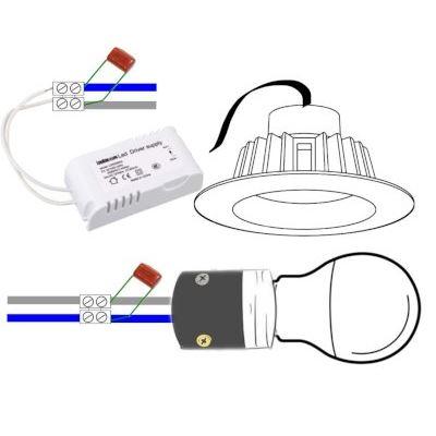 10 x Condensador Poliester Quitar Parpadeo 110-240VAC Led 470nF 0,47uF 400V