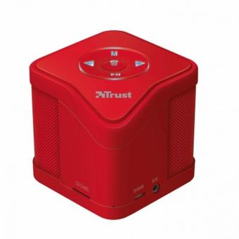 Altavoz Trust Urban Muzo Wireless Bluetooth red - MP3 - Micro SD - Func. Manos Libres - Incluye Cabl
