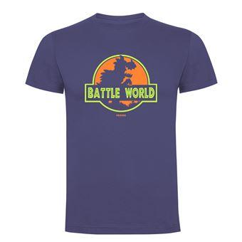 Camiseta manga corta Friking, Modelo 690 Battle World, Talla L, Denim