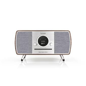 Sistema de alta fidelidad Tivoli Audio (ART Line) con radio DAB+ / FM / AM, reproductor CD y Wifi / Bluetooth, Nogal