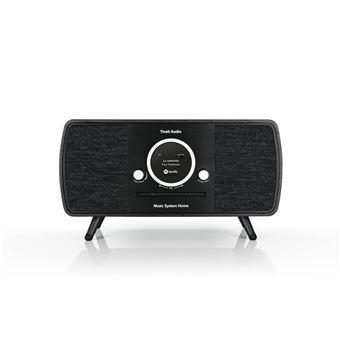 Sistema de alta fidelidad Tivoli Audio (ART Line) con radio DAB+ / FM / AM, reproductor CD y Wifi / Bluetooth, Negro
