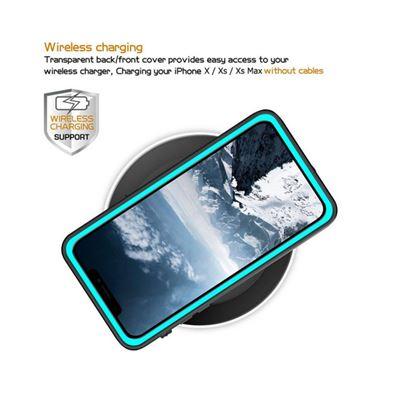 c5850ceb788 Funda Sumergible para iPhone X / XS Certificado IP68 Compatible con Carga  Inalámbrica, Azul & Negro - Fundas y carcasas para teléfono móvil - Los  mejores ...