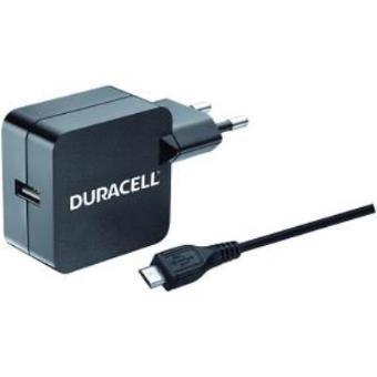 Duracell Cargador de red micro USB para telefonos y tablets (2,4 A)