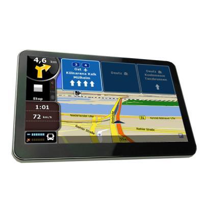 Navegador GPS  5'''' Bluetooth con FM, Tactil, Mp3, videos, Mapas de Europa + Radares