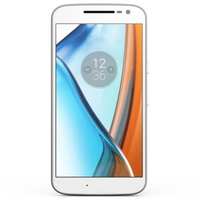 Motorola Moto G4 (16Go, Dual SIM, Blanco)