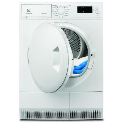 Secadora Electrolux EDH3685PZW A+ Freestanding 8kg Front-load White