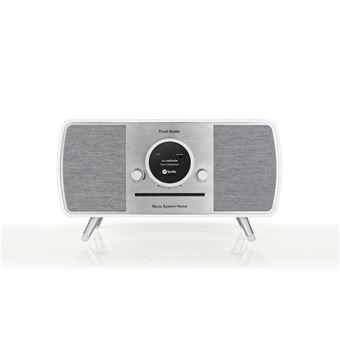 Sistema de alta fidelidad Tivoli Audio (ART Line) con radio DAB+ / FM / AM, reproductor CD y Wifi / Bluetooth, Blanco
