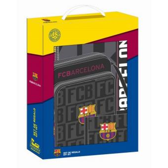 Set Regalo F.c.barcelona Black Pequeño 9fea9f0a10f