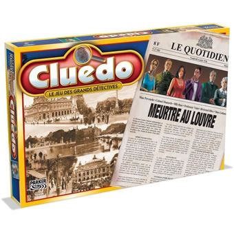 HASBRO Cluedo Asesinato en el Louvre