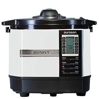 Robot de cocina Oursson multifunción de alta presión, 45 programas automáticos, capacidad de 5 L, recubrimiento antiadherente, libro de recetas, MP5005PSD/IV