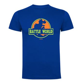 Camiseta manga corta Friking, Modelo 690 Battle World, Talla L, Royal