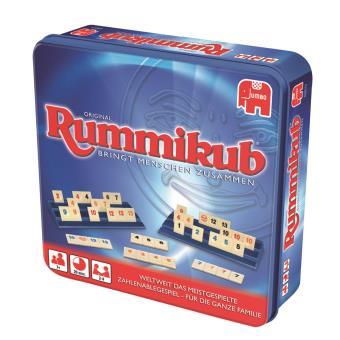 Jumbo Rummikub Original Ninos Y Adultos Juego De Tactica Juegos De