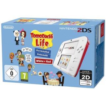 Nintendo 2Ds weiss inkl. Tomodachi Life , Importación Alemana