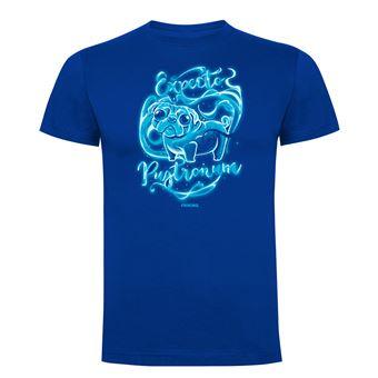 Camiseta manga corta Friking, Modelo 636 Harry Potter, Expecto pugtronum, Talla XXL, Royal