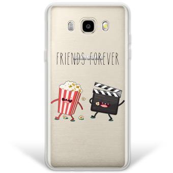 3f1e2f633bc Funda Samsung Galaxy J5 2016 híbrida Friends Forever Palomitas y Cine  Rígida y bordes de TPU Silicona - Transparente - Fundas y carcasas para  teléfono móvil ...