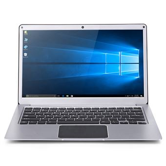 "PC Portátil Aiwo I4 Notebook 13.3"""" 4+128GB Windows10 versión inglés 4Core HDMI Gris"