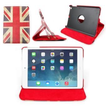 Funda /Atril Modelo Bandera Reino Unido Para Tablet iPad Mini 2 / Mini - Interior Aterciopelado Para Mayor Protección Por DURAGADGET