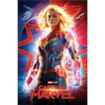 Maxi Poster Captain Marvel Higher Further Faster