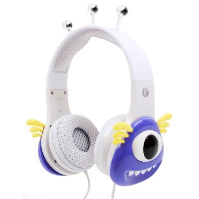Auriculares mágicos para niños - Duragadget - Diseño monstruo morado ...