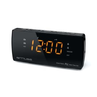 Muse - M-185 cr Reloj Digital Negro Radio