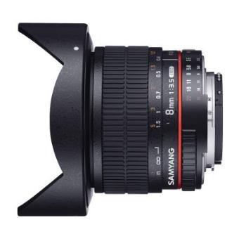 Lente para cámara Samyang 8mm F3.5 UMC Fish-Eye CS II
