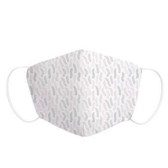 Mascarilla Adulto Pekebaby de tela reutilizable 2 capas + bolsillo con 1 filtro incluido, diseño 014 WOODS