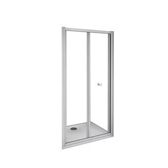 Mamparas Puerta Abatible Pantalla de Ducha 5mm cristal para 76x185cm