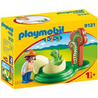 Playmobil 1.2.3 - Huevo de Dinosaurio (9121)