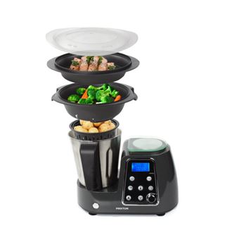 Robot de cocina multifunción Prixton, Negro