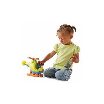 Helicóptero sonidos y sorpresas de Little People Mattel BDY82