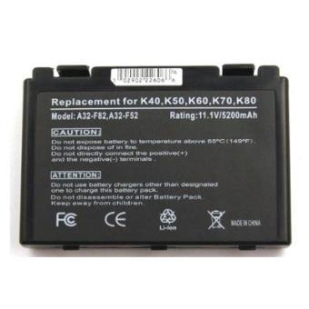 Batería compatible con Asus F52, F82, Ff83s, K40, K40e, K40ij, K40in, K50, K50ab-x2a, K50ij, K50in, K51, K60, K61, K6c11, K70, K70ic, K70ij, K70io, P50, P81, Pro 5C, Pro 5D, Pro 5E, Pro 5J, Pro 65, Pro 66, Pro 79, Pro 88, Pro 8B, Pro 8D, X50, X5c, X5...