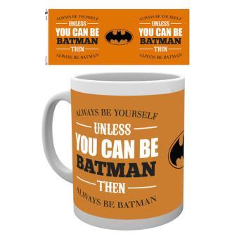 Taza Batman Comic Be Yourself